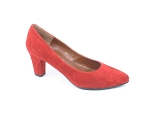 MUSE SATIN MAGDA:Nubuck/Rouge