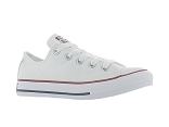 NAVETTE ALL STAR BASSE ENF E17:Toile/BLANC