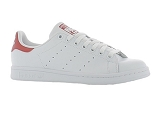VIVIEN STAN SMITH:CUIR/BLANC ROUGE