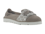9641 ASELIN:CUIR/TAUPE