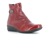 GALLUCHAT ESTAFORA:CUIR/Rouge