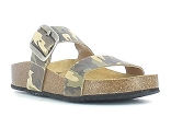TITOF CP ROCK CAMUFLAGE:CUIR/VERT FONCE